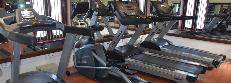 Gym steam massage room gaekwad baroda golf club